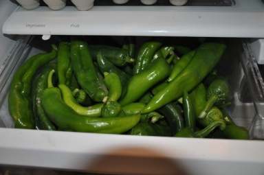 Drawer Stuffed full of peppers!