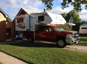 The new Lance camper!